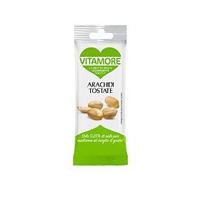 VitaMore, Arachidi tostate leggermente salate (confezione 25 grammi)