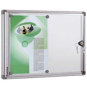 Vitrine d' intérieur extra plate Planorga 34 x 47 cm