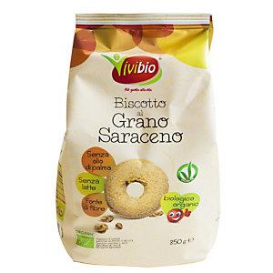 VIVIBIO Biscotto biologico di frumento e grano saraceno, 350 g