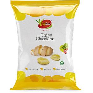 VIVIBIO Chips Classiche Bio, Senza glutine, 35 g
