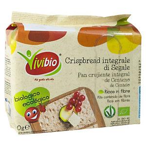 VIVIBIO Crispbread integrale di segale Bio, 200 g
