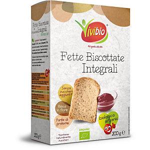 VIVIBIO Fette biscottate integrali Bio, 200 g