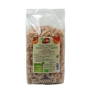 VIVIBIO Fusilli integrali di grano duro Cappelli Bio, 500 g