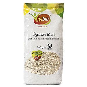 VIVIBIO Linea Biologica Semi di Quinoa reale soffiata, 100 gr