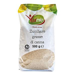 VIVIBIO Linea Biologica Zucchero grezzo di canna, 500 gr