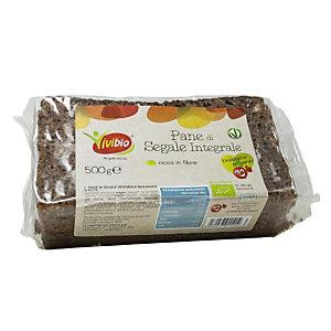 VIVIBIO Pane di segale integrale a fette Bio, 500 g