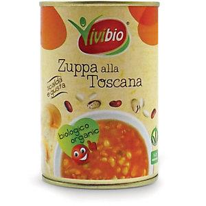 VIVIBIO Zuppa alla Toscana Bio, Latta da 400 g