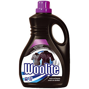 Vloeibare wasprodukt Woolite Zwart en donkergekleurde was 2 L