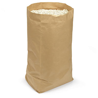 Voluminøse poser av kraftpapir