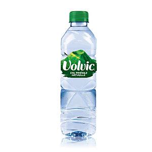 Volvic Eau minérale plate, bouteillePET, 500ml (Lot 24 bouteilles)