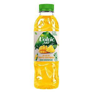 Volvic Juicy, Eau plate aromatisée fruits exotiques - bouteille PET 50 cl