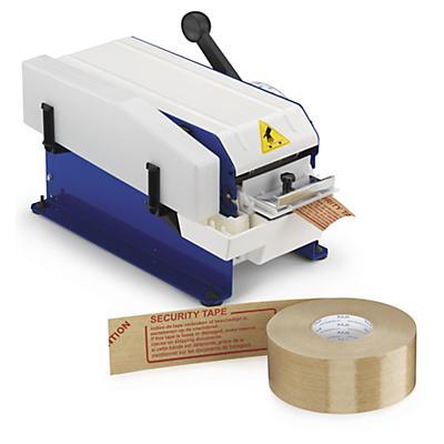 Pack bande gommée pré-imprimée + distributeur Raja##Voordeelpak gegomde kleefband met voorbedrukte boodschap + dispenser Raja