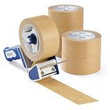 Voordeelpak papieren tape + dispenser Raja