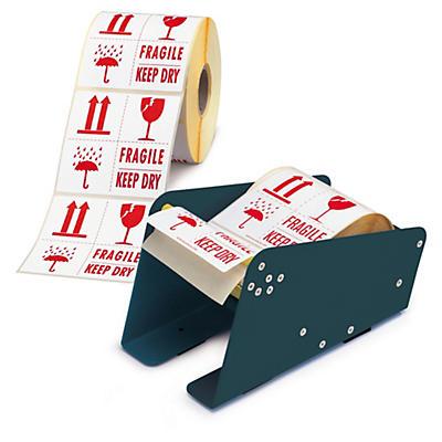 Pack d'étiquettes d'emballage##Voordeelpak verpakkingsetiketten en etikettendispenser