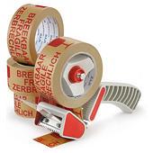 Voordeelpak voorbedrukte papieren tape, 57 g/m²