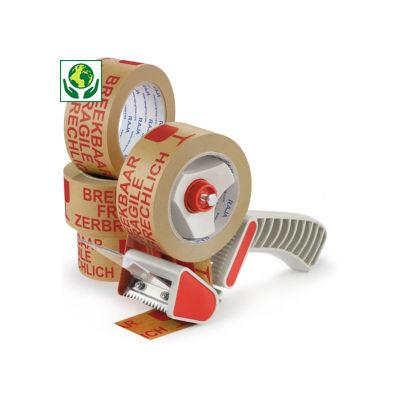 Pack ruban adhésif en papier pré-imprimé, 57 g/m²##Voordeelpak voorbedrukte papieren tape, 57 g/m²