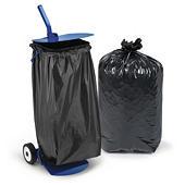 Voordeelpak vuilniszakken met mobiele vuilniszakhouder