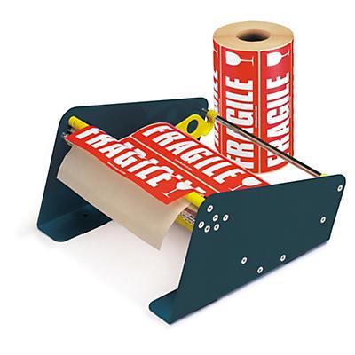 Pack d'étiquettes de signalisation##Voordeelpak waarschuwingsetiketten en etikettendispenser