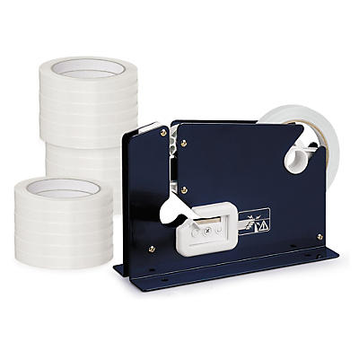 Pack ruban adhésif PVC blanc 12mm##Voordeelpak witte PVC-tape 12 mm