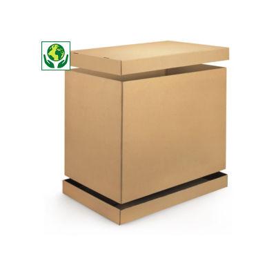 Container en carton modulable##Voordeelpakket omdoos met bodem en deksel