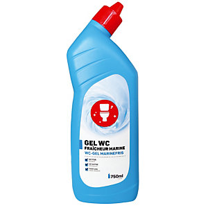 Voordelige ontkalkende WC-gel munt parfum 750 ml