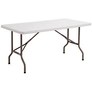 Vouwbare tafel in polyethyleen 152 x 76 cm