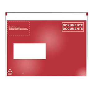 VP 250 documentzakjes C6, venster links