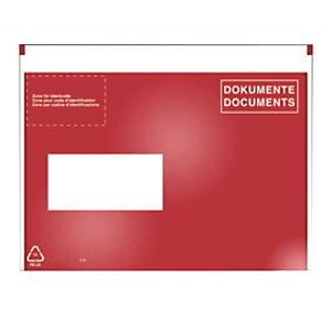 VP 250 pochettes porte-documents C5, fenêtre à gauche