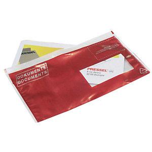 VP 250 pochettes porte-documents DIN longue, fenêtre à droite