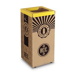 Vuilnisbakken in karton voor selectief sorteren 100 L