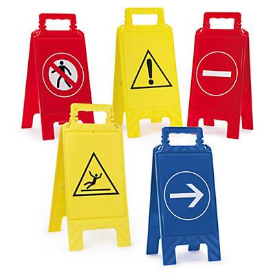Chevalet de signalisation##Waarschuwingsborden