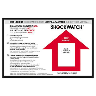 Étiquette de positionnement pour l'indicateur de renversement##Waarschuwingslabel voor kantelindicator