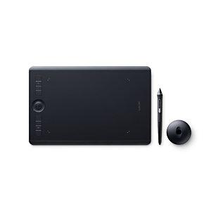 Wacom Intuos Pro M South, Inalámbrico y alámbrico, 5080 líneas por pulgada, 224 x 148 mm, USB/Bluetooth, Pluma, Negro PTH-660-S