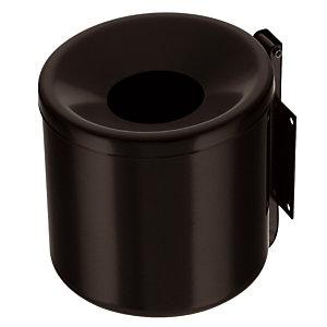 Wandasbak 1.25 L, kleur zwart
