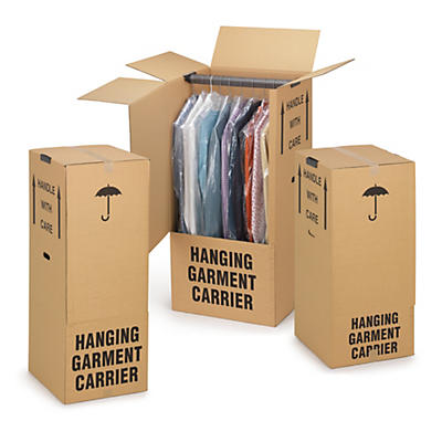 Wardrobe removal boxes