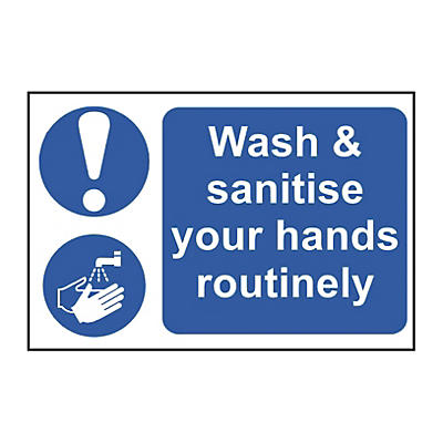 Wash Your Hands Notices
