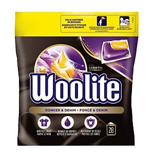 Wasmiddel in doseringen Woolite Donker & Denim, 28 doseringen