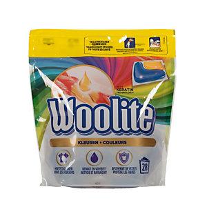 Wasmiddel in doseringen Woolite kleuren, 28 doseringen