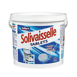 Wastabletten voor vaatwasser korte cyclus Solivaisselle van Solipro, 160 tabletten