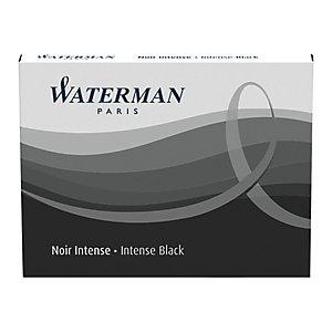 Waterman Cartouche d'encre pour stylo-plume, encre noire