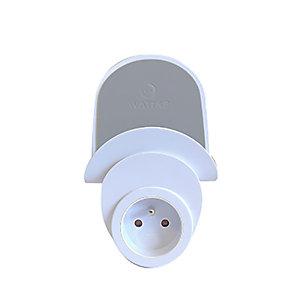 WATT & CO ECONNECTONS-NOUS Chargeur mural USB pour smartphone et tablette - Blanc