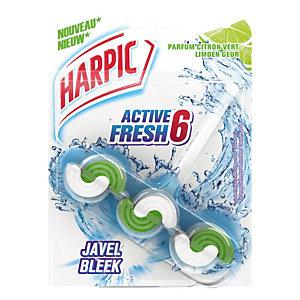 WC-blokje Harpic Active Fresh 6, bleekwater