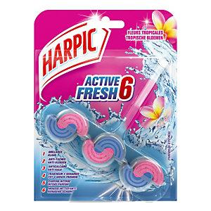 WC-blokje Harpic Active Fresh 6, Tropische Bloemen