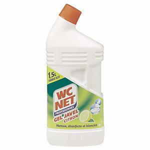 WC NET Bidon Pro Gel javel citron 1,5L