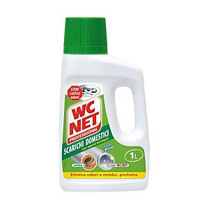 WC NET Detersivo Liquido Scarichi domestici Flacone  1 l