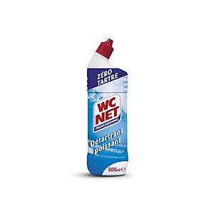 WC NET Gel WC détartrant puissant, parfum amande amère - Flacon 800 ml