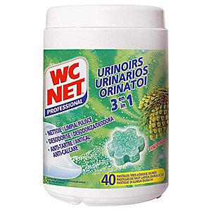 WC NET Pastilles pour urinoirs 40 Pastilles