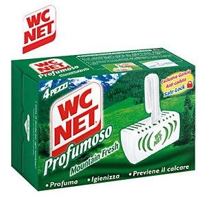 WC NET Profumoso Tavoletta solida per WC, Mountain Fresh (confezione 4 pezzi)
