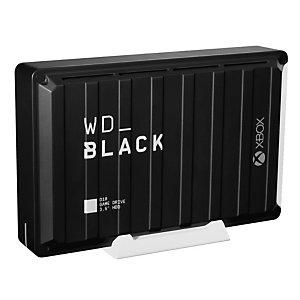 Wd Western Digital D10, 12000 GB, 3.2 Gen 2 (3.1 Gen 2), 7200 RPM, Negro WDBA5E0120HBK-EESN