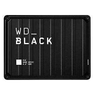 """Wd Western Digital P10 Game Drive, 5000 GB, 2.5"""", 3.2 Gen 1 (3.1 Gen 1), Negro WDBA3A0050BBK-WESN"""